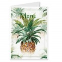 Menu ananas tropical