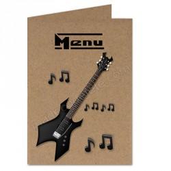 Menu musique rock kraft