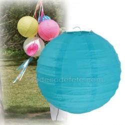 Boule japonaise turquoise 30 cm