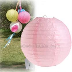Boule japonaise rose 30 cm