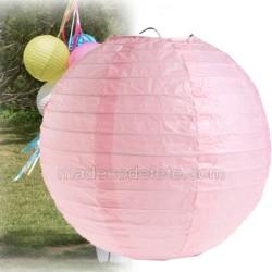 Boule japonaise rose 50 cm