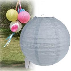 Boule japonaise grises 30 cm