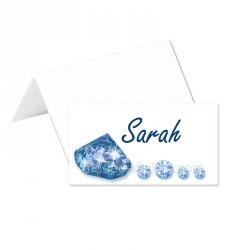 Porte-noms thème diamants (x24)