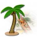 Palmier bois 30 cm