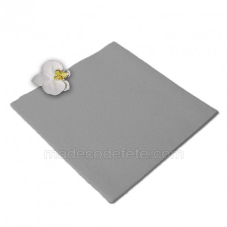 Serviettes intissées grises