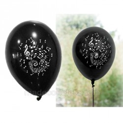 8 ballons noir musique