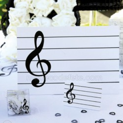 Centre de table musique
