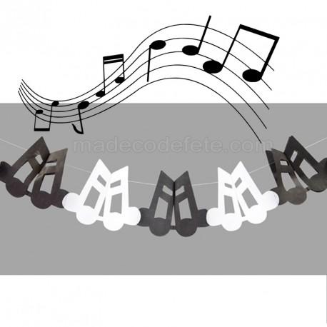 Guirlande musique de 4 m