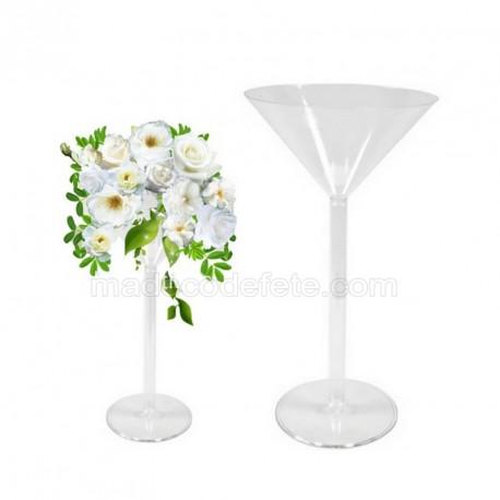 Coupe vase martini 46 cm