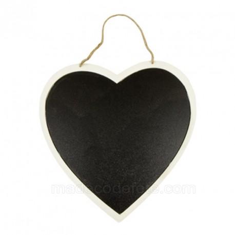 Menu coeur à suspendre