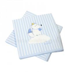 20 serviettes baby prine