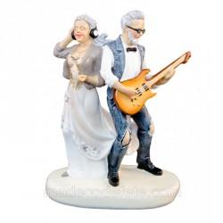 Couple anniversaire mariage rock