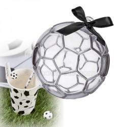 Contenant dragées ballon de foot