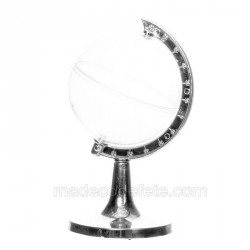 Contenant dragées globe de 9 cm