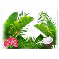 Set de table tropical