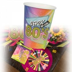 gobelet années 80 x10