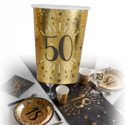 gobelets or 50 ans x10