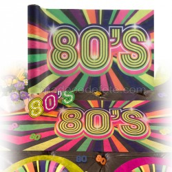 Chemin de table années 80