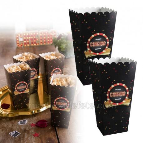 Cornet pop-corn cinéma x8