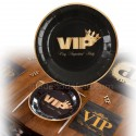 assiettes VIP x10