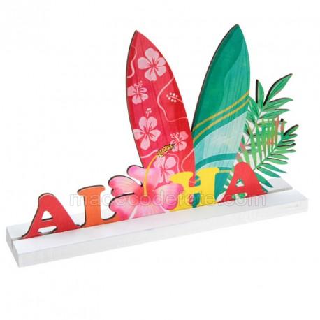 Décor de table aloha