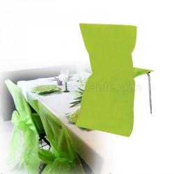 Housse de chaise jetable anis