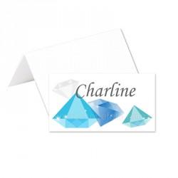 Porte-noms diamants (x24)