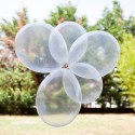 10 ballons cristal translucides