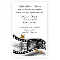 Invitation repas star cinéma