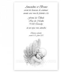 Invitation repas ange