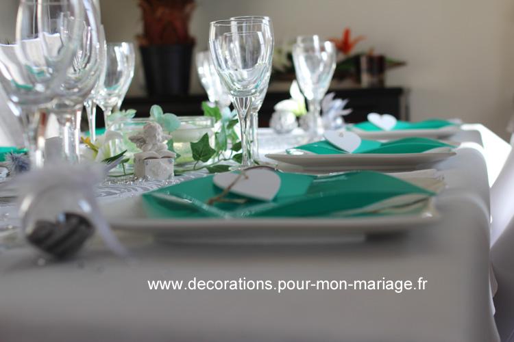 Décorations table de fêtes fin d'année et noël