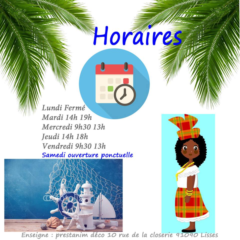 horaires magasin mariage lisses 91090