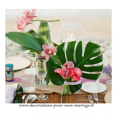 Décorations tables de mariage et accessoires