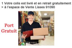 Livraison gratuite espace entrepôt Lisses 91090