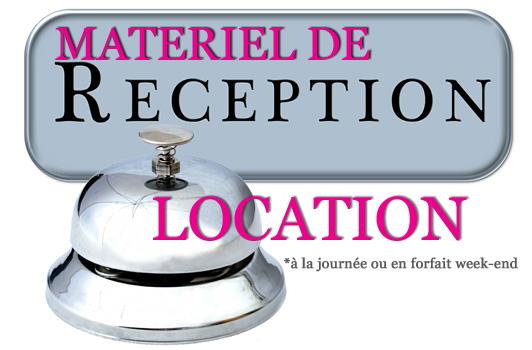 location d ematériel de réception et décorations événementielles