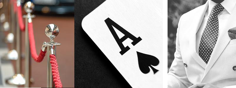 décos theme chic et prestige gala casino