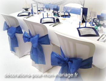 Décorations mariage marine blanc thème marin