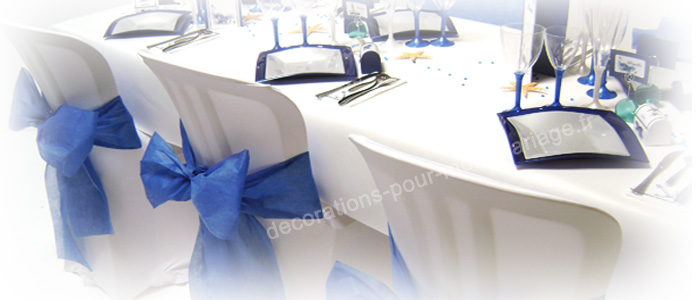 décorations mariage mer