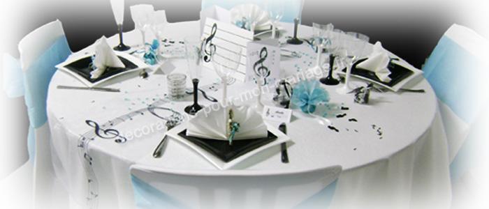 decorations sur la musique