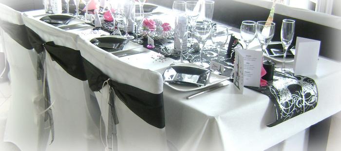 décorations mariage sur le thème Paris