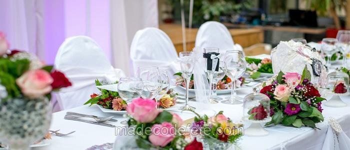 decorations pour un mariage