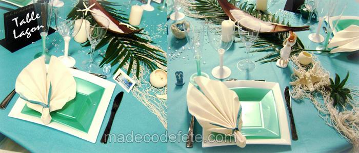 decorations sur les îles et tropiques