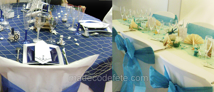 decoration theme mer marine et blanc Bretagne