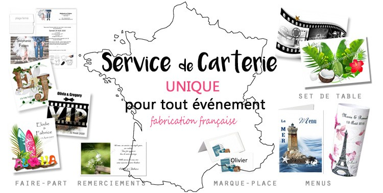 Fabication carterie Made in France, personnalisation dans nos ateliers