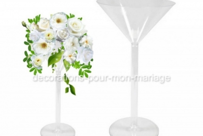On aime la coupe vase martini